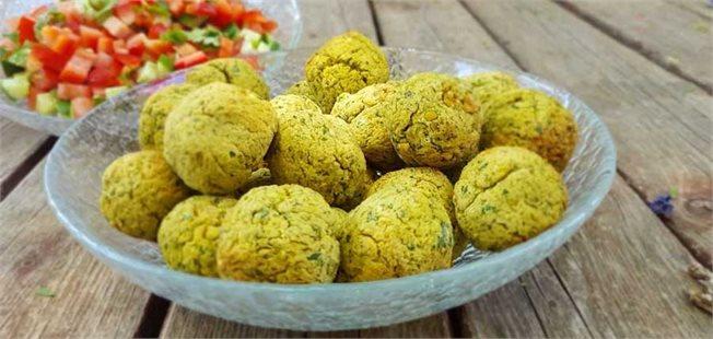 פלאפל ישראלי, טבעוני ודיאטטי